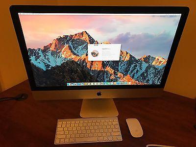 Apple iMac 27 Inch, 2.9 Ghz, Intel Core i5, 8 GB, 1 TB Fusion (LATE 2012)