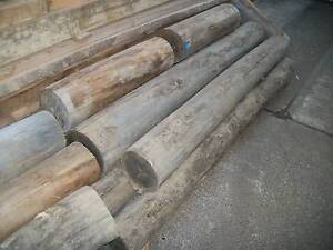 SEASONED HARDWOOD TIMBER TREE STUMP POSTS POLES 200mm Panania Bankstown Area Preview