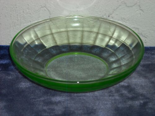 Block Optic Cereal Bowl  Green