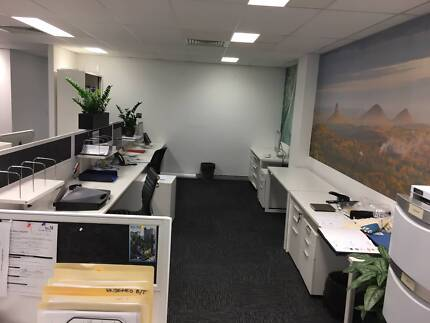 SHARED OFFICE SPACE FOR RENT! 10 large Desks and Managers Corner!