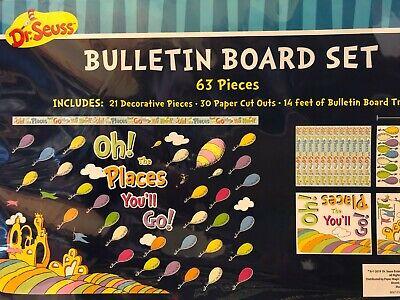 NEW Dr. Seuss: Bulletin Board Activity Set (Set of 63)  Teacher - Dr Seuss Activity