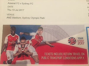 Arsenal FC V Sydney FC tickets Woongarrah Wyong Area Preview