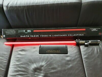 Original Master Replica Force FX Darth Vader Lichtschwert kein Hasbro