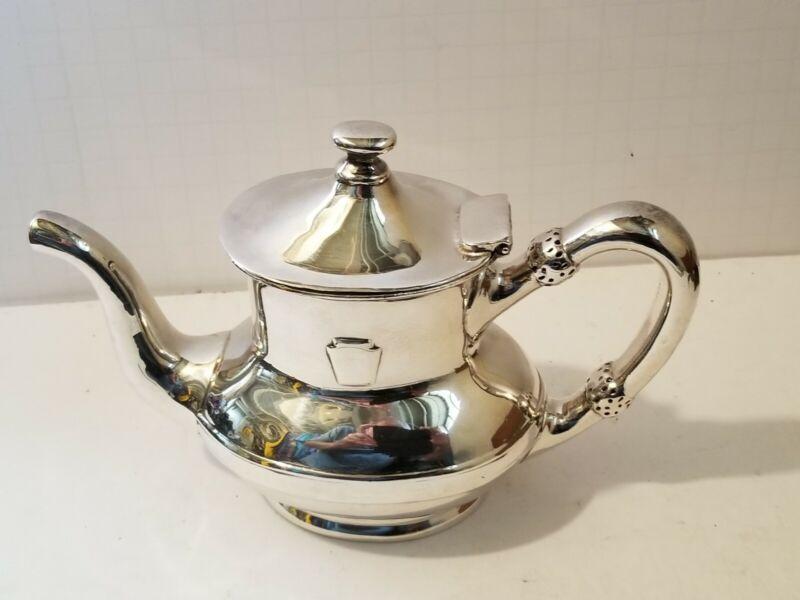 PRR  Pennsylvania Railroad Dining Car Silver Teapot