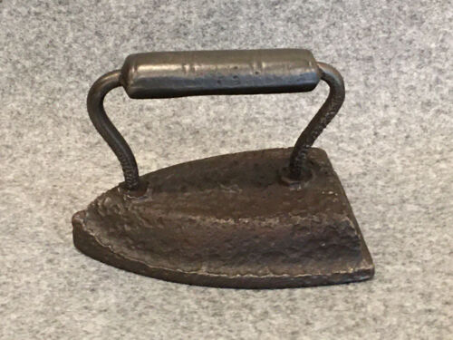 Vintage Antique Primitive Sad Iron Press - Door Stop, Book End, Paper Weight
