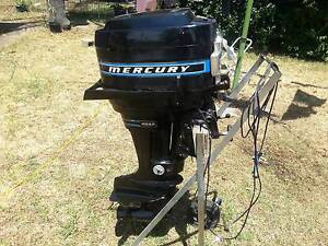 mercury 20 hp outboard electric and pull start Pittsworth Toowoomba Surrounds Preview