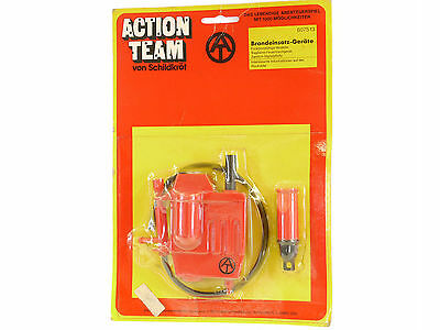 Schildkröt 6075 13 Action Team Brandeinsatz-Geräte MIB Neu OVP 1411-13-33