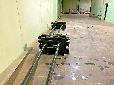 Loron Forklift Accessory- Carpet Poles Euc