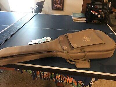 """Taylor Guitars Gig Bag Padded Soft Case Tan With Shoulder Straps 41"""""""