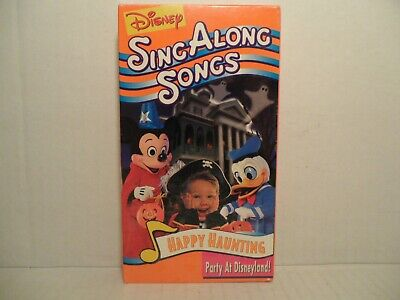 Happy Halloween Country Music (GISNEP Happy Haunting Sing Along Songs Halloween Party At Disneyland! VHS)