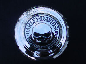 Harley-Davidson-CUSTOM-Willie-G-Skull-Smoothie-Horn-Cover-NEW-NIB