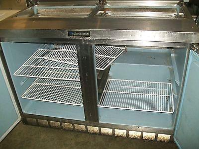 Delfield Sandwich Prep Tablemodel 4448-12115v 4 Shelves 900 Items On E Bay