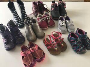 Bottes, souliers et sandales fille