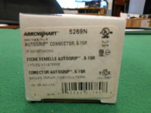 ArrowHart 5269N AutoGrip Female Connector (A)
