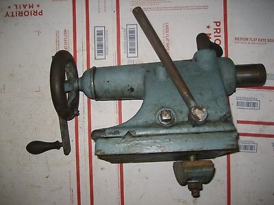 Hendey Lathe Tailstock From A Vintage Hendey Lathe
