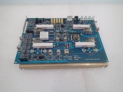 Warranty Servo Dynamics Sd412-40 Linear Servo Amplifier Drive Sd4 4 Amp Module