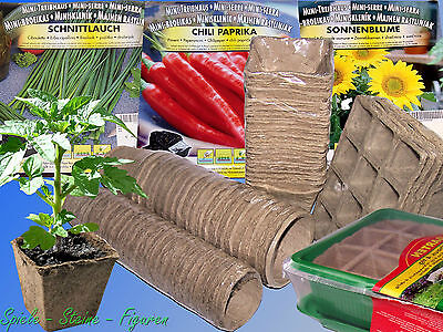 Propagation pots, bio-degradable, Seed tray, Plant pots ...