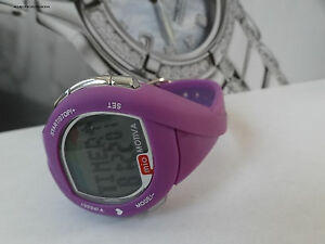 MIO Motiva Petite Heart Rate Calorie Monitor Sport Watch  - Purple