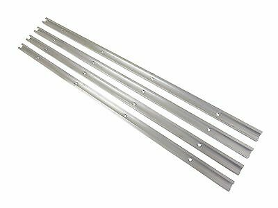 Lot 4 48 Aluminum T Track 34 X 38 Accepts 14 Hex 14 516 T Bolts
