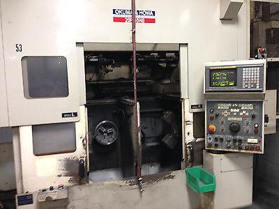 Okuma Howa 2sp-15hg Dual Spindle Cnc Lathe Fanuc Twin Gantry Loading System