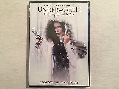 Underworld: Blood Wars (DVD, 2017) BRAND NEW - FREE SHIPPING TO THE US!!!