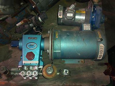 5 HP CAT MODEL 350 HIGH PRESSURE PUMP ,5 HP ELECTRIC MOTOR 208-230/460V/3/60