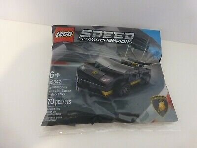 LEGO Lamborghini Huracán Super Trofeo EVO 30342 70 pcs (polybags) NEW & SEALED