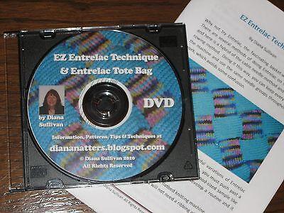 EZ Entrelac to Machine Knit by Diana Sullivan