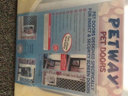 Petway Pet Door  3 sizes availiable