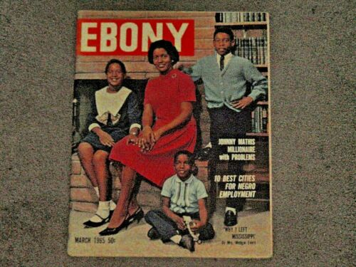 EBONY MAGAZINE,March 1969,James Brown, Why I Left Mississippi, Mrs.MEDGAR EVERS