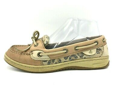 Sperry Top Sider Size 6 M US Women's Brown Leopard Animal Print Boat Shoes for sale  Shipping to South Africa