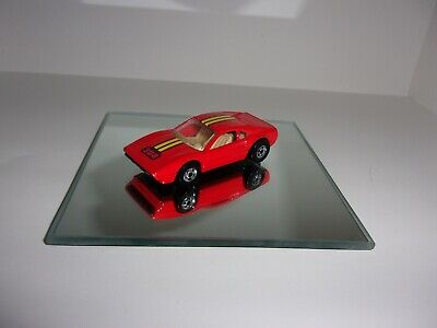 Hot Wheels ferrari 308 orange paint beige int.