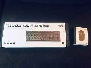HAVIT GAMING KEYBOARD AND MOUSE $100 obo