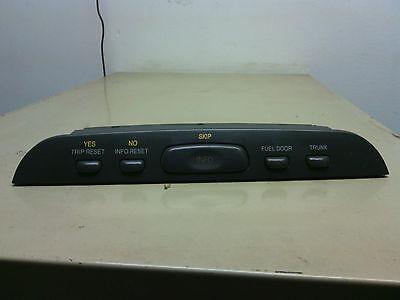 98' - 02'  Cadillac Eldorado info trip reset fuel door trunk center unit  OEM