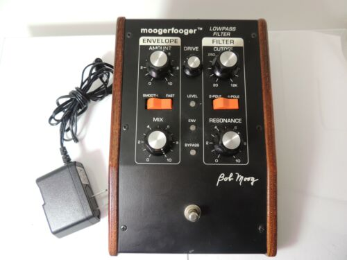 Moog MF-101 Low Pass Filter Effects Pedal Moogerfooger Big Briar w/Adapter