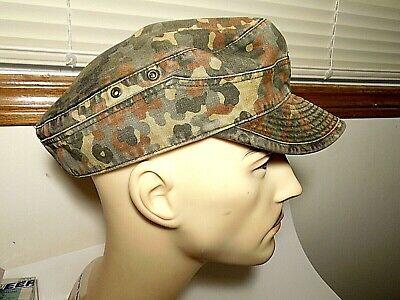 1950s Mens Hats | 50s Vintage Men's Hats  Vintage German Army camouflage Cap circa 1950's size approx . 7-71/8 $29.99 AT vintagedancer.com