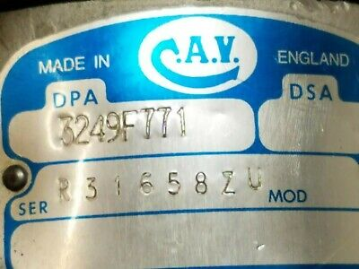 Lucas Cav Diesel Fuel Injection Pump Dpa 3249f771