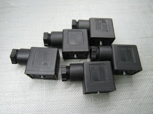 OMAL 10-250 Solenoid Connector Lot of 5