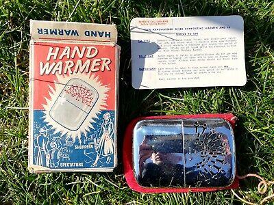 Vintage Hand Warmer Paraffin With Original Box