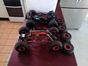 Rc 4x4 cars 1 rock climber 1 4x4 racer an heaps parts $150 ono Marlow Lagoon Palmerston Area Preview