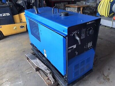 Miller Big Blue 251d Duetz Diesel Welder Generator Skid 1450 Hours Can Ship Tx