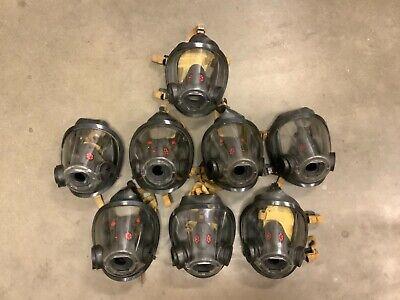 Scott Av3000 Ht Firefighter Scba Mask 5pt Kevlarheadnet Sureseal Size Large
