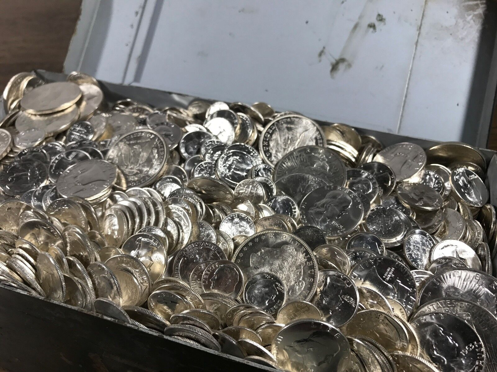 OLD UNCIRCULATED SILVER COIN MIXED MONEY ESTATE SALE LIQUIDATION SETS LOT COIN!