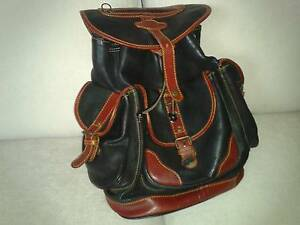 Leather rucksack Burwood Whitehorse Area Preview
