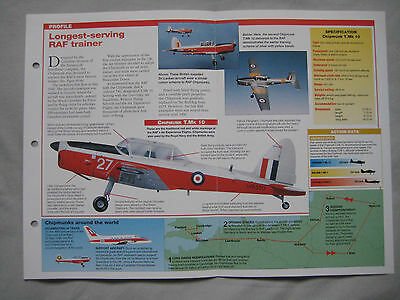 Aircraft of the World Card 150 , Group 4 - De Havilland Canada DHC-1 Chipmunk