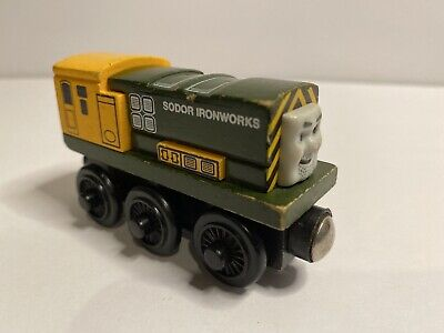 Thomas And Friends Wooden Railway Iron Bert Wood Train Diesel Engine 2003