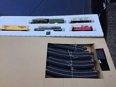 Smoky Mountain Express Train Set 00613 HO Scale Bachmann w/ E-Z Railroad Track