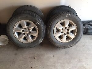 265/65 r18 GMC rims and tires