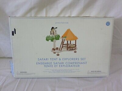 Pottery Barn Kids PBK Safari Tent and Explorers Set for sale  Shipping to Canada