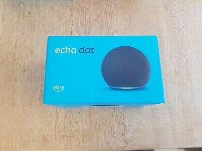 Amazon Echo Dot (4th Gen) Smart Speaker With Amazon Alexa Charcoal